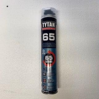 Tytan Professional 65 pistoolivaahto 870ml, elastinen talvilaatu